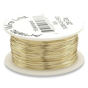 Artistic Wire® 26s Gauge Gold 30yd