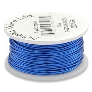 Artistic Wire® 26s Gauge Silver Blue 1/4lb (Apx 105 Yards)