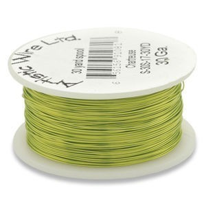 Artistic Wire® 28s Gauge Chartreuse 40yd