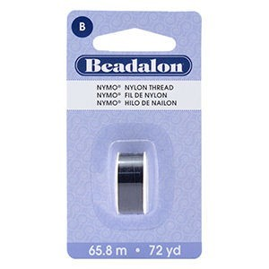 Beadalon® Nymo B 0.20mm Black 1pc