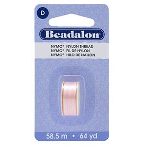 Beadalon® Nymo D 0.30mm Pink #4 1pc