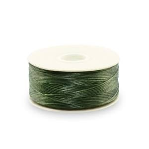 Beadalon® Nymo Thread Size D 0.30mm (.012in) 59m (64yd) Olive 80pc