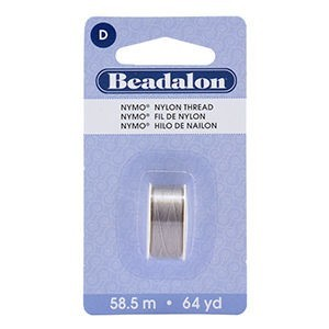 Beadalon® Nymo D 0.30mm Grey 1pc