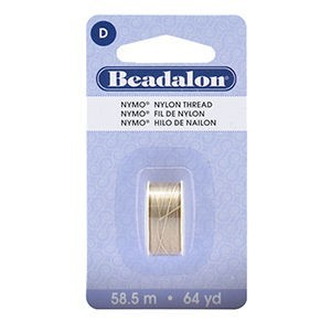 Beadalon® Nymo D 0.30mm Sand Ash 1pc