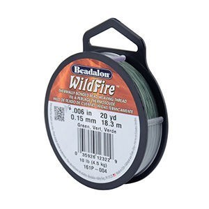 Beadalon® Wildfire .006in (.15mm) Green 20yd (18m)