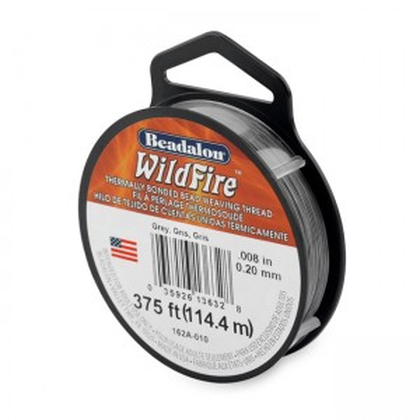 Beadalon® Wildfire .008in (.20mm) Grey 125yd (114m)