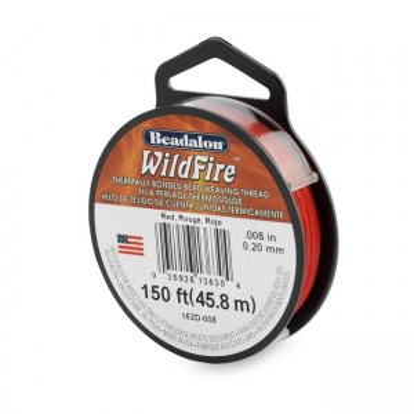 Beadalon® Wildfire .008in (.20mm) Red 50yd (45m)