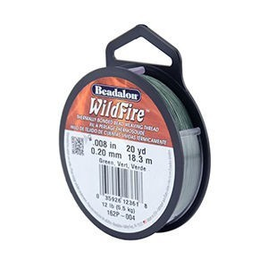 Beadalon® Wildfire .008in (.20mm) Green 20yd (18m)