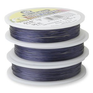 Beadalon® 19 Strand Wire .015 Inch Blue 30 Feet