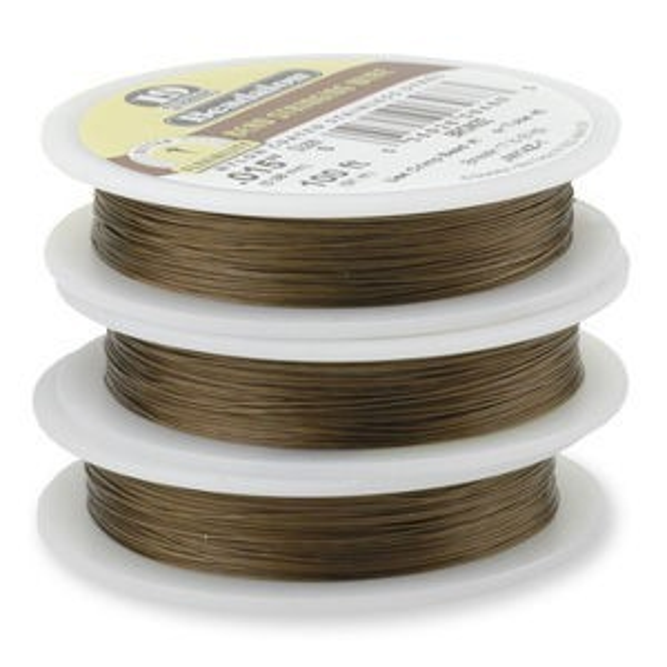 Beadalon® 19 Strand Wire .018 Inch Bronze 30 Feet