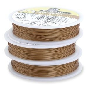 Beadalon® 19 Strand Wire .015 Inch Satin Copper 100 Feet