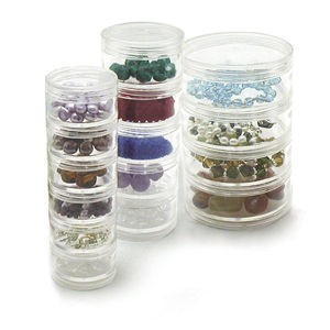 Beadalon® Stack Containers Large 2.5 Inch Dia - Stack of 4