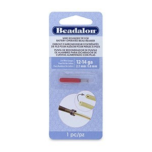 Beadalon® Wire Rounder Burr Attachment for Bat Oper Bead Reamer 12 and 14 Ga Wires