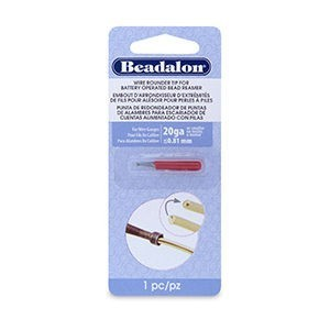 Beadalon® Wire Rounder Burr Attachment for Bat Oper Bead Reamer 20 and Thinner Ga Wires