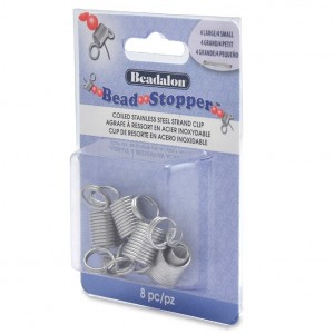 Beadalon® Bead Stopper Combo Pack (4 Small 4 Large) 8pc