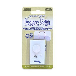 Beadalon® Finding s Forms Round Earwire Jig 1 Pc