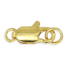 Beadalon® Lobster Clasp 2rg 12mm Gold Color 4pcs