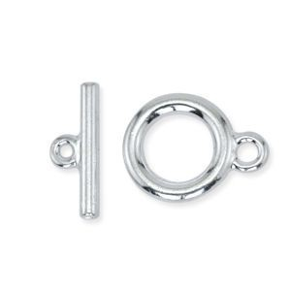 Beadalon® Toggle Med Silver Plate 2sets