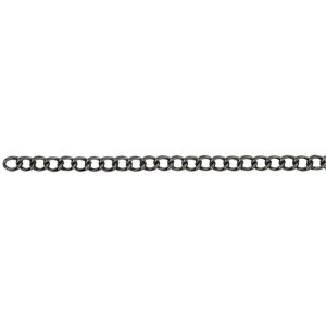 Beadalon® Chain 4.1mm Curb Hematite Color 2m(78inch)