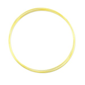Beadalon® Memory Wire Extra Heavy Duty Round Extra Large Necklace Gold Color Wire Diameter 1.0mm (.039in) 0.5 oz (14g) apx 5