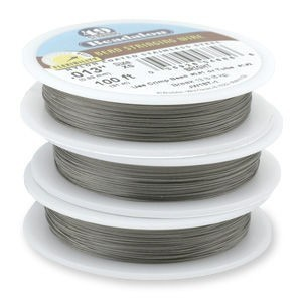 Beadalon® 49 Strand Wire .024 Inch Bright 100 Feet
