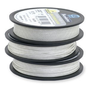 Beadalon® 49 Strand Wire .018 Inch Silver Plate 10ft