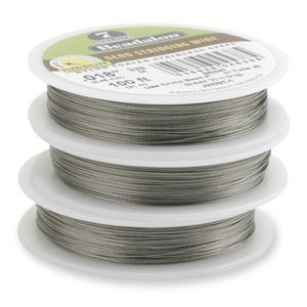 Beadalon® 7 Strand Wire .026 Inch Bright 100 Feet