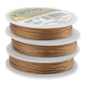 Beadalon® 7 Strand Wire .015 Inch Copper Color 30 Feet