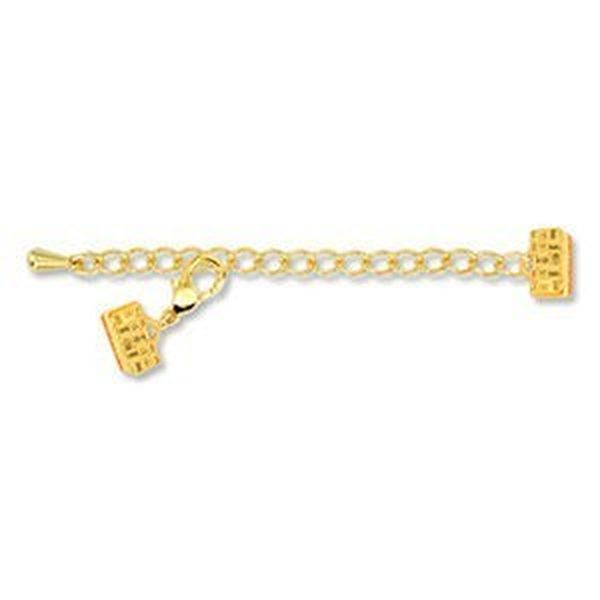 Beadalon® Artistic Wire® Ext Clasp W/Lob Gold Color 10mm 2set