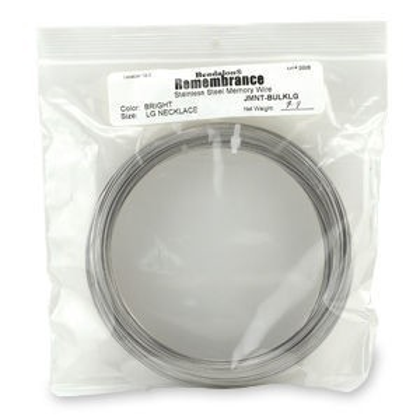 Beadalon® Memory Wire Necklace Bright Bulk Apx 7-8 Oz