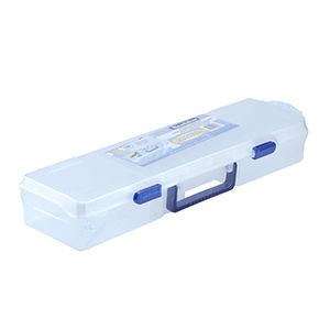 Beadalon® Bead Box 19.5x5.5x3.63in (49.5x14x9cm) 12 Moveable Dividers 1 Removable Tray