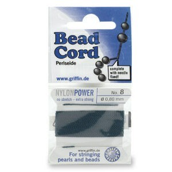 Beadalon® Polythread 06 - Green 1card