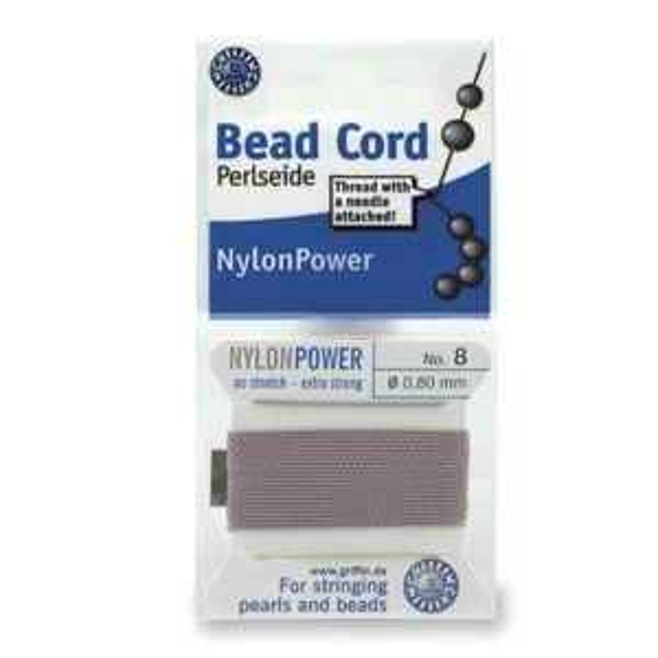 Beadalon® Polythread 06 - Grey 1card