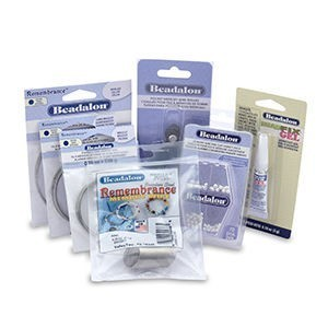 Beadalon® Memory Wire with End Caps Kit