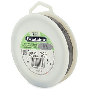 Beadalon® 7 Strand Wire .015 Inch Bright 300ft