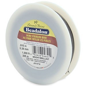 Beadalon® 19 Strand Wire .015 Inch Bright 1000ft