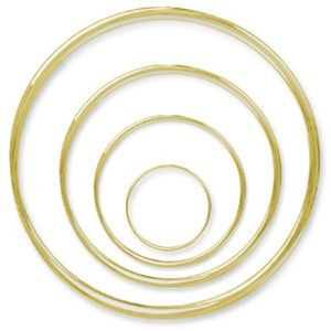 Beadalon® Memory Wire Astmt 4-Size Nickel-Free Gold Plated 0.5oz