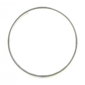Beadalon® Memory Wire Ring Silver Plated 0.5oz