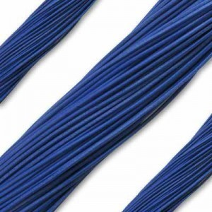 1.3mm Royal Blue German Leather 1 Meter (39 Inches) Length
