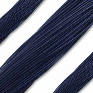 1.3mm Navy German Leather 1 Meter (39 Inches) Length