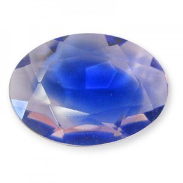 25x18mm Pink Sapphire Burst Czech Hc Faceted Oval (2 Pcs)
