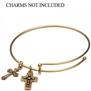 Add-A-Charm Expandable Bracelet with 3mm Ball Matte Gold