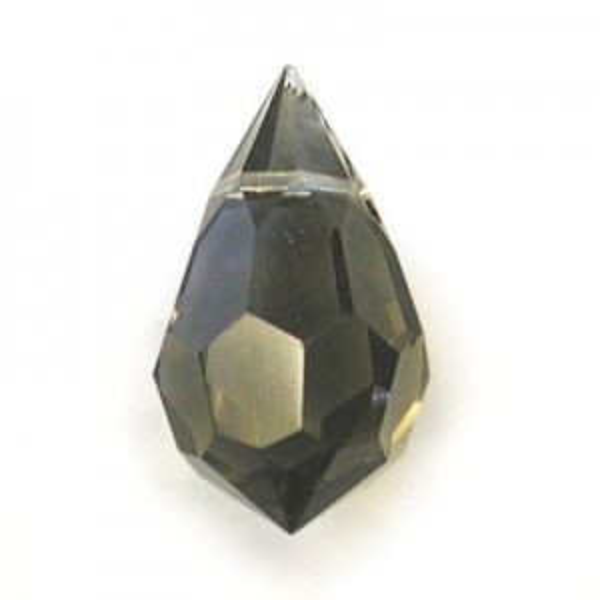 10x6mm Black Diamond Czech MC Tear Drops