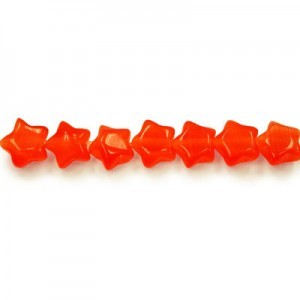 7mm Red Star Cat's Eye 16 Inch Strand (Approx.57 Beads)