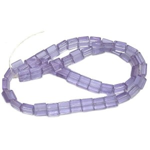 6mm Alexandrite Half Cut Cube Glass Bead Sold by 16 Inch Strand (Apx 66 Beads)