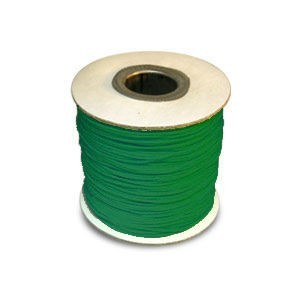 Chinese Knotting Cord 0.8mm Neon Emerald 100m(328ft) Spool
