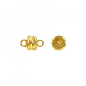 6mm Magnetic Clasp Gold Plate (100pc)