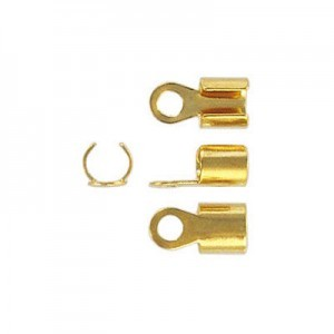 Crimp Connector 3.5mm Id Gold Plate (500pc)
