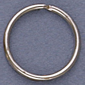 Split Ring 24mm White Finish (1000pc)