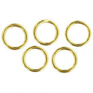 Split Ring 6mm Goldtone (1000pc)